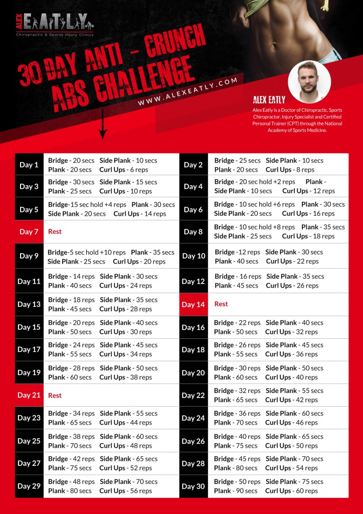 Abs Challenge Poster